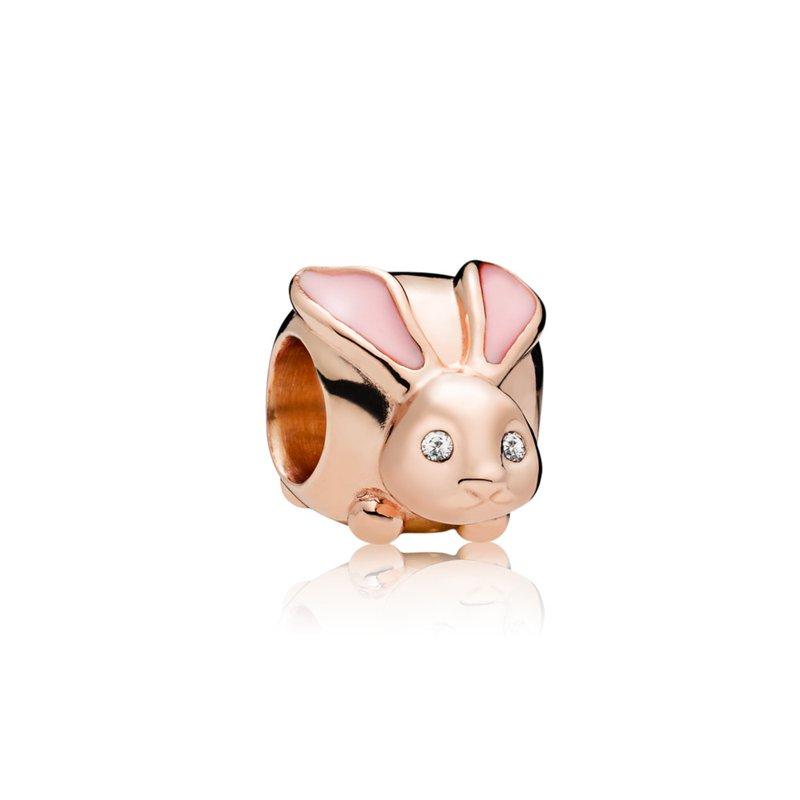 PANDORA Cute Bunny Charm