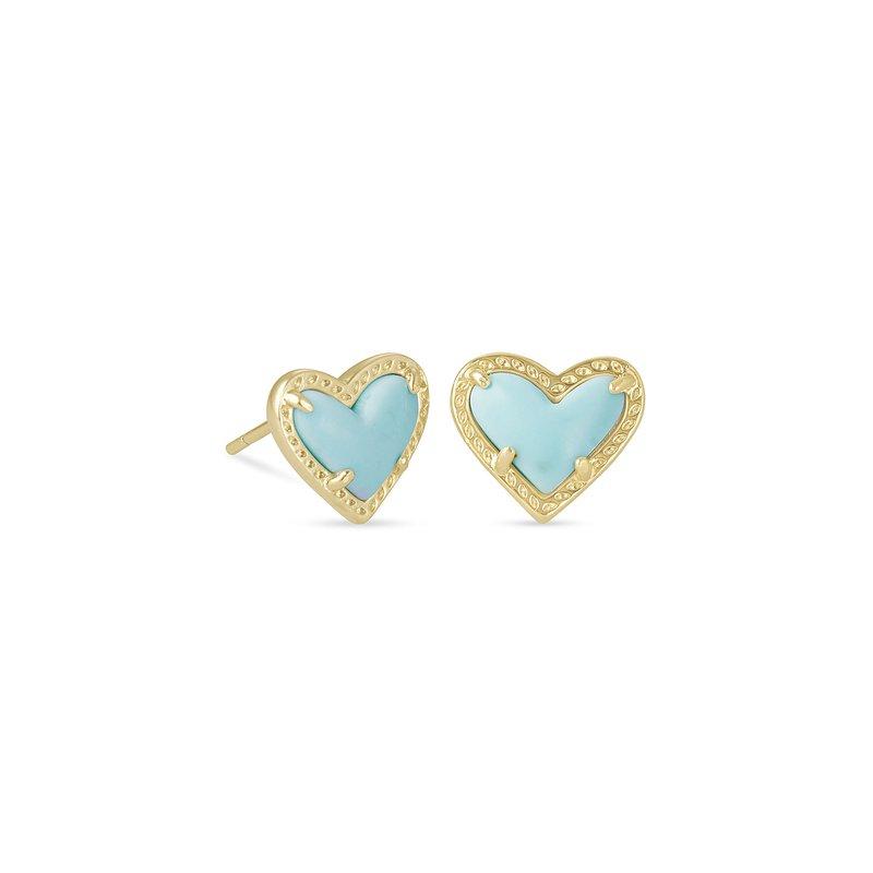 Kendra Scott Ari Heart in Blue Magnesite