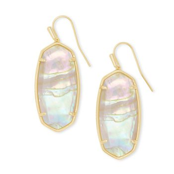 Faceted Elle in Iridescent Abalone