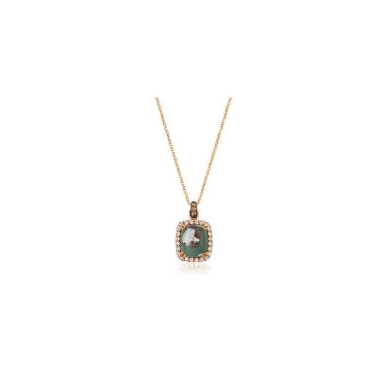 Le Vian 14K Strawberry Gold®  Aquaprase Candy Pendant