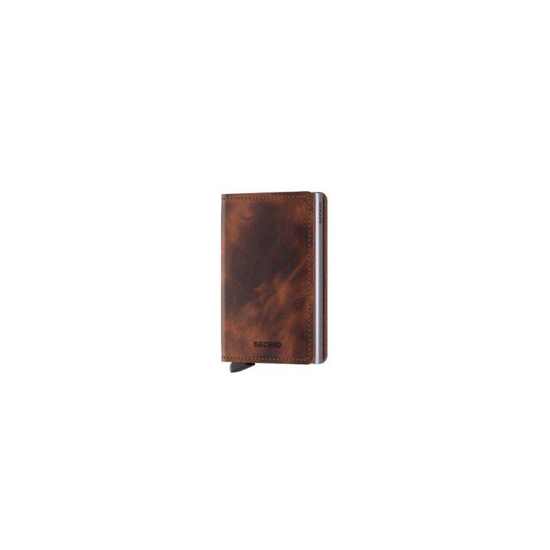 Secrid B.V. Slimwallet in Vintage Brown