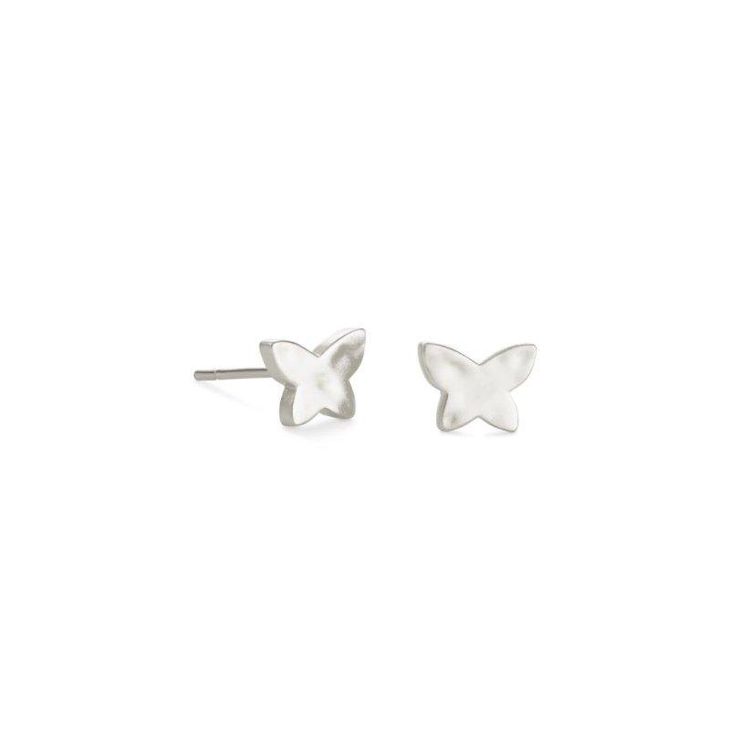 Kendra Scott Lillia Butterfly Studs in Silver