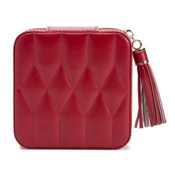 Caroline Zip Travel in Red