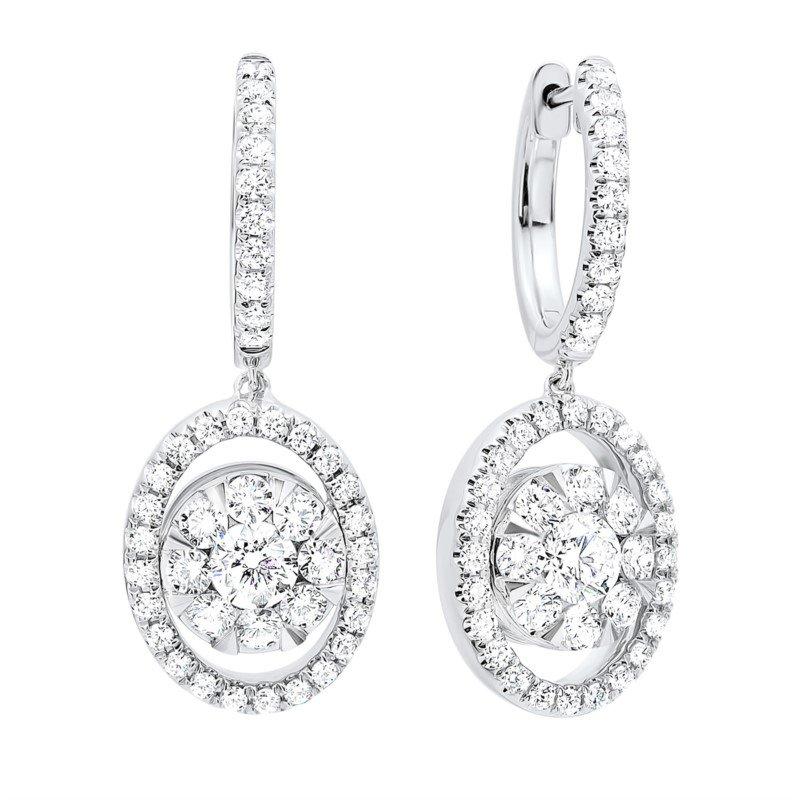 Kelley Collection  Diamond Dangle Earrings