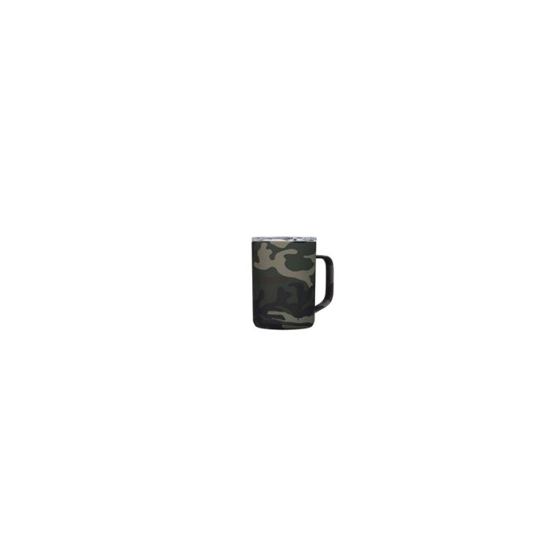 Corkcicle 16oz Woodland Camo Coffee Mug