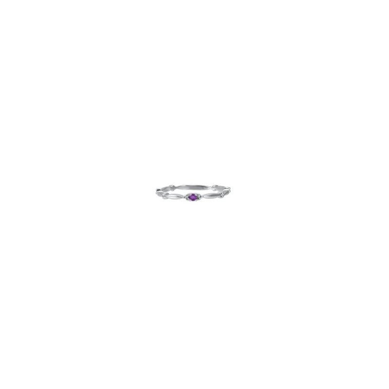Kelley Collection  Amethyst Ring