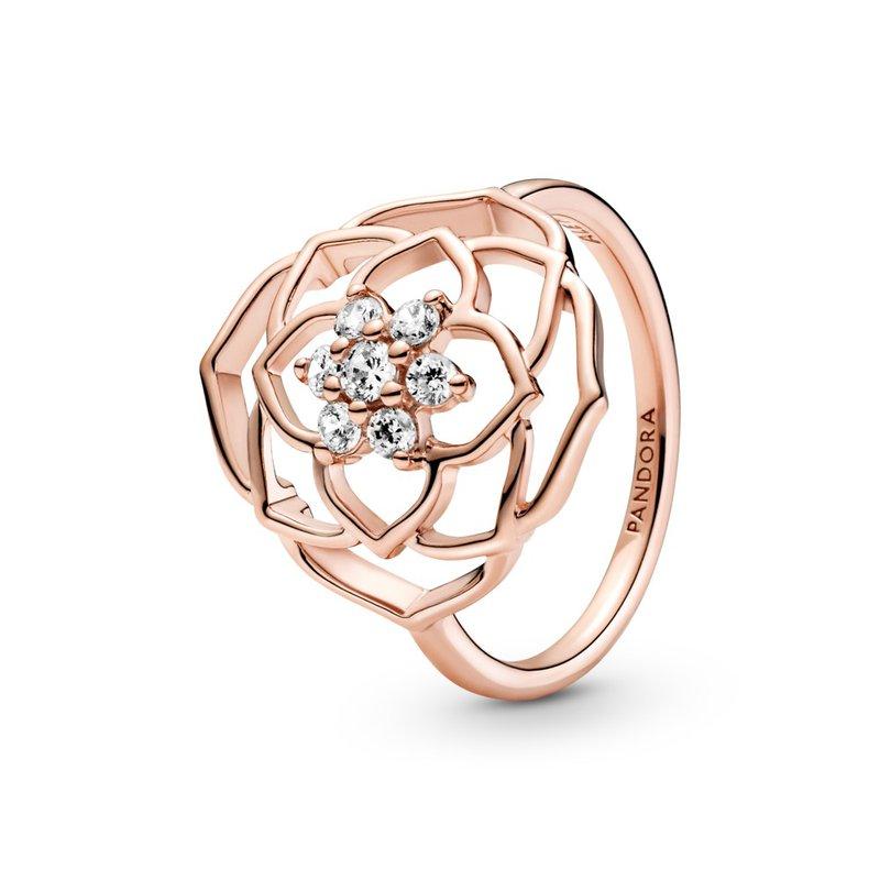PANDORA Rose Petals Statement Ring