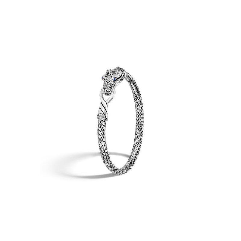 John Hardy Classic Chain Station Bracelet with Diamond
