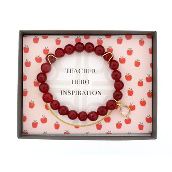 Teacher Hero Inspiration Gift Box - Red Quartz