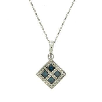 Square Diamond Pendant