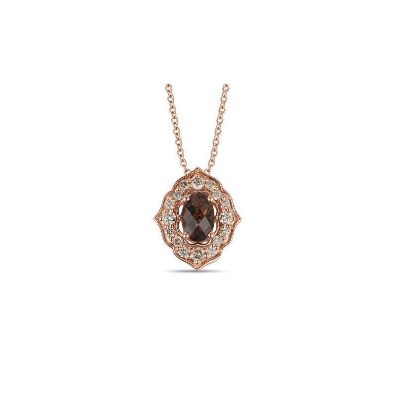 Le Vian Chocolate Quartz® & Nude Diamond™ Pendant
