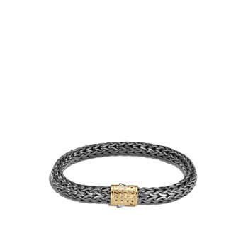 Classic Chain Blackened Bracelet