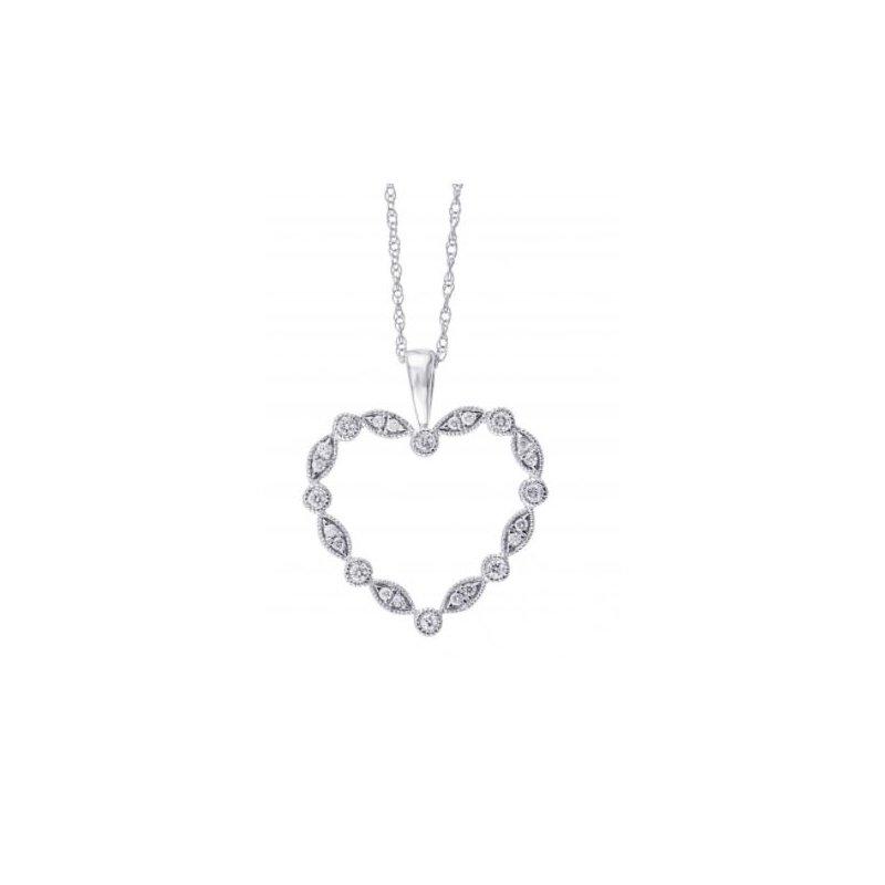 Kelley Collection  Diamond Heart Pendant