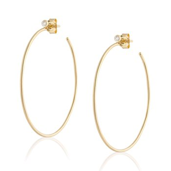 Large Wire Hoops