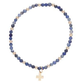 Sincerity Pattern Bead Bracelet
