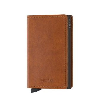 Slimwallet in Cognac Brown