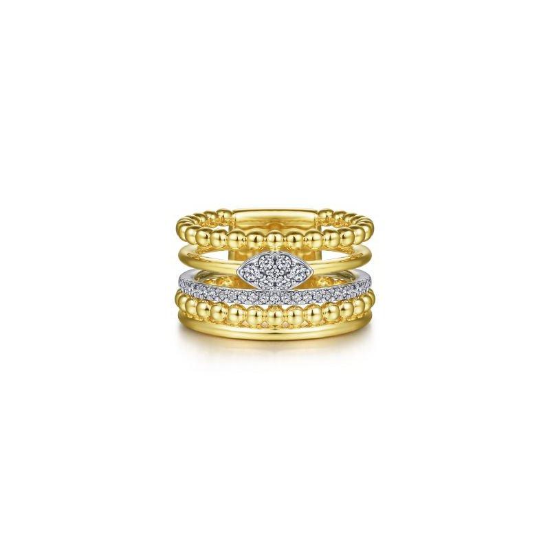 Gabriel NY Fine Jewelry Diamond Bujukan Band