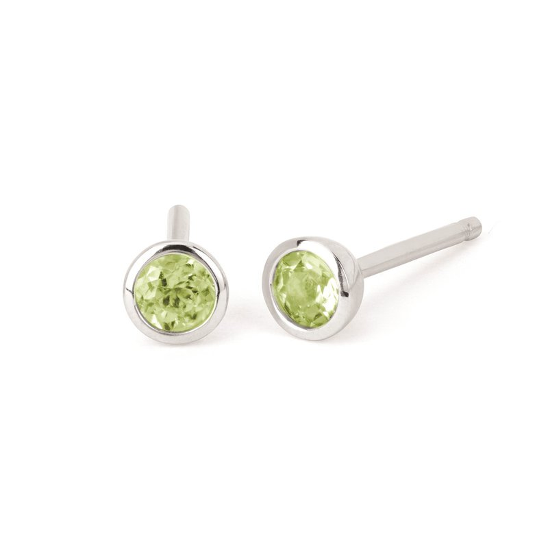 Kelley Collection  Peridot Studs
