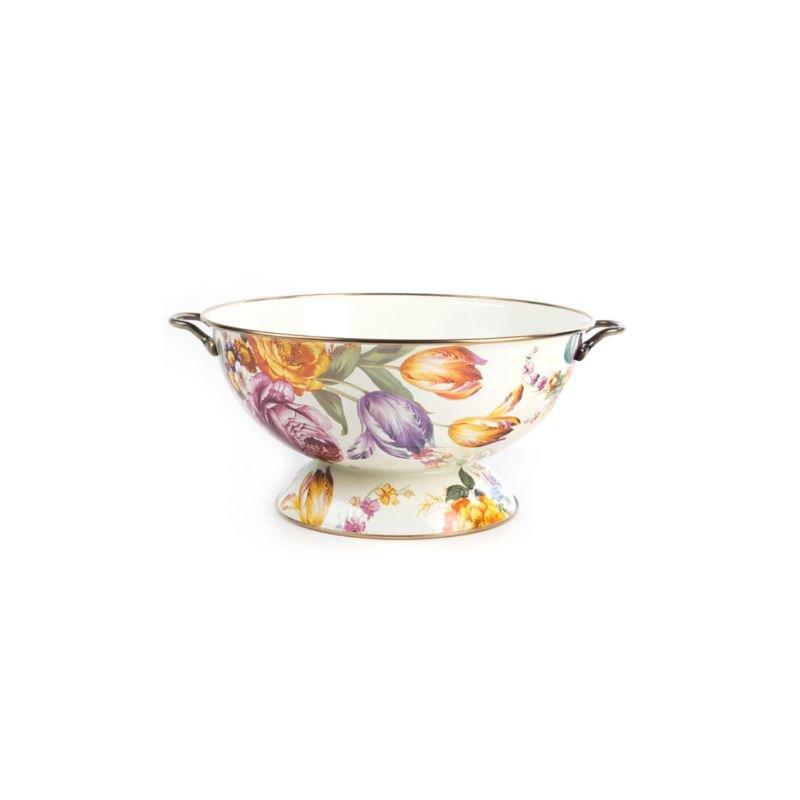 MacKenzie-Childs Flower Market Everything Bowl - White