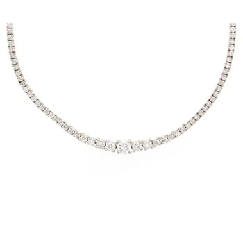 Diamond Rivière Necklace