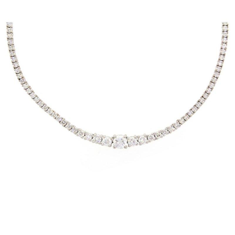 Kelley Collection  Diamond Rivière Necklace