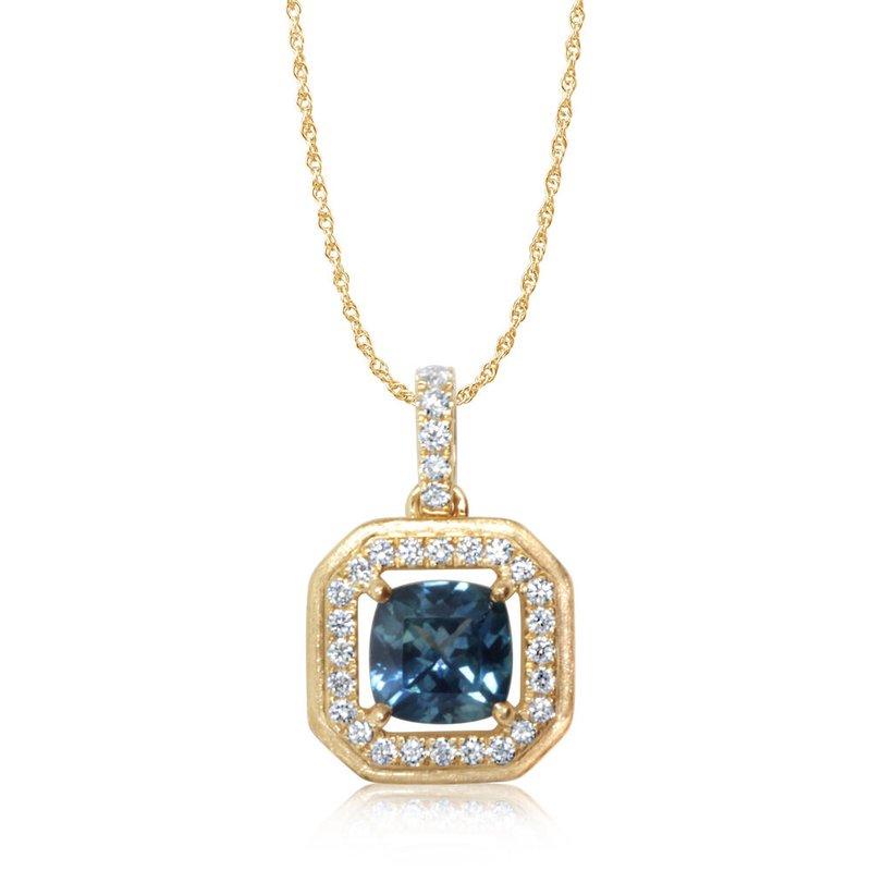Kelley Collection  Montana Sapphire Pendant