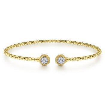 Bujukan Diamond Split Cuff Bracelet