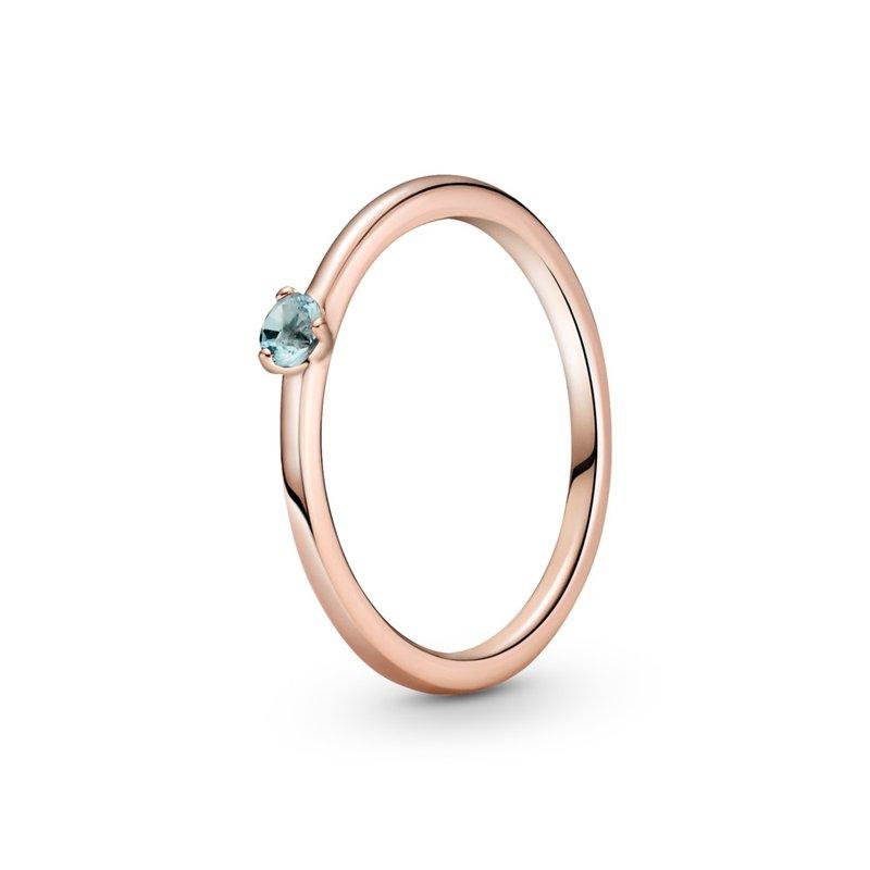 PANDORA Light Blue Solitaire Ring