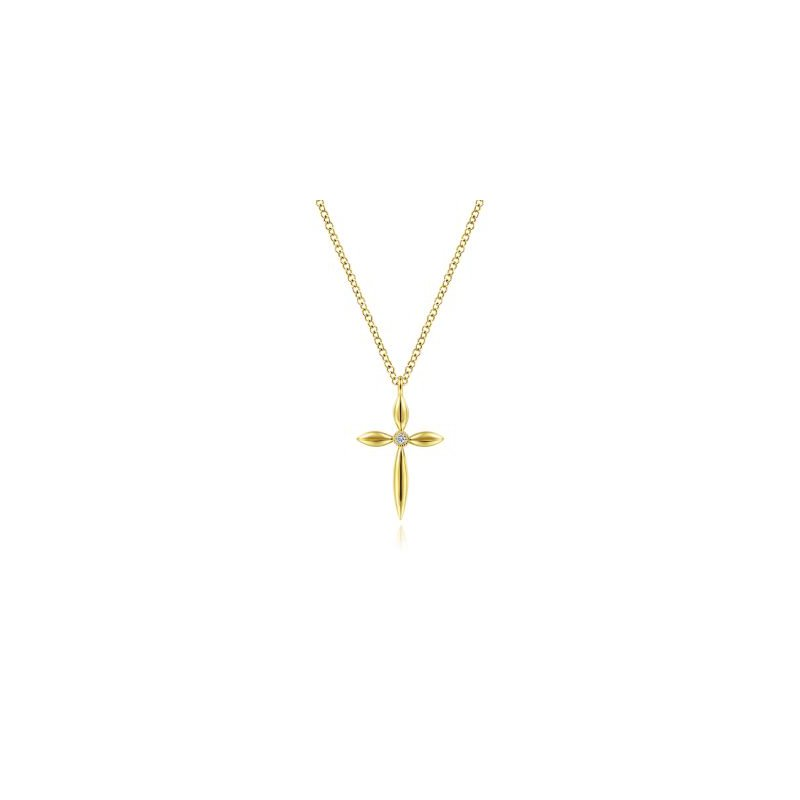 Gabriel NY Fine Jewelry Diamond Cross Pendant