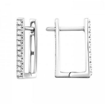 Diamond Square Hoops
