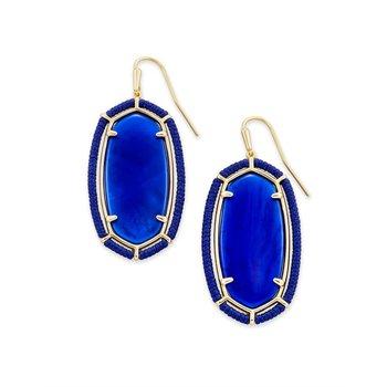 Threaded Elle in Cobalt Blue Illusion