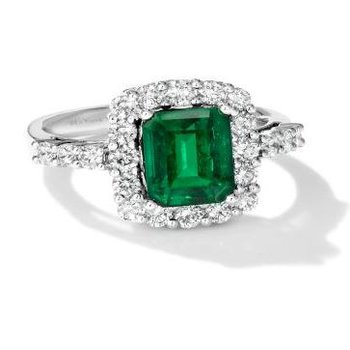 Costa Smerelda™ Emerald Couture® Ring