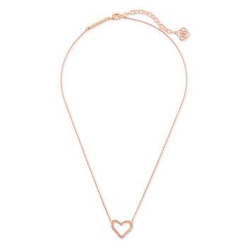 Sophee Heart in Rose Gold