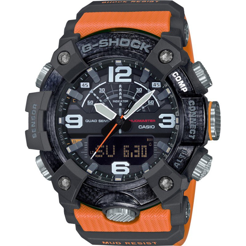 G-Shock Master of G Series Mudmaster Connect in Orange/Green