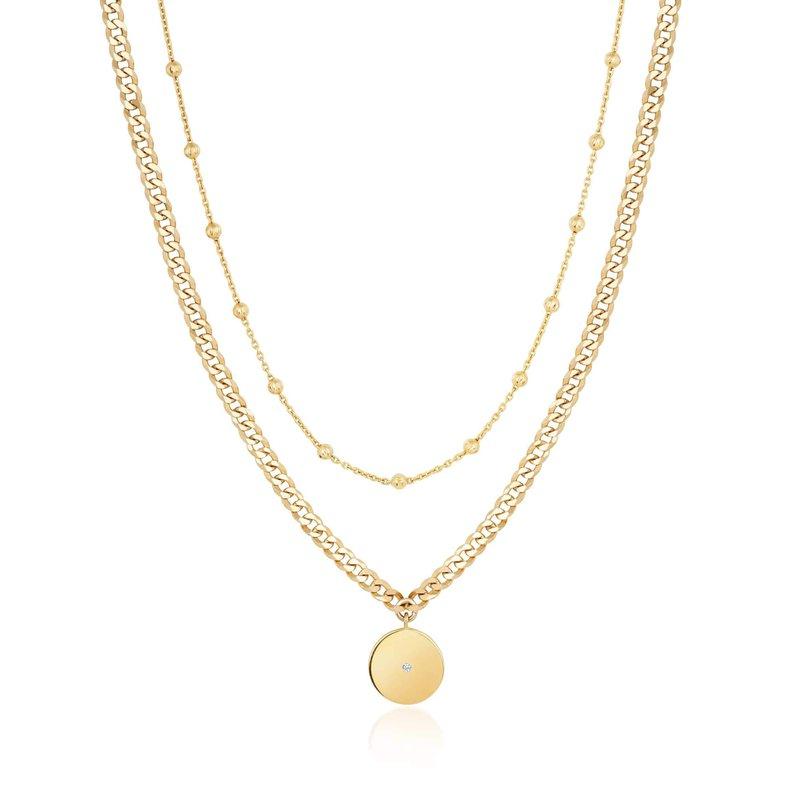 Ela Rae Jewelry, LLC Double Layer ~7C Curb