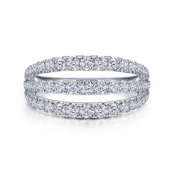 Three Row Diamond Ring