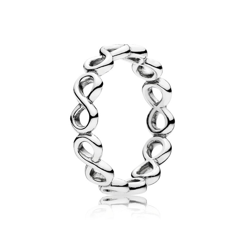PANDORA Simple Infinity Band Ring
