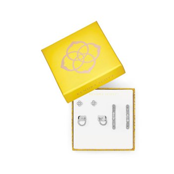 Maggie Earring Gift Set in Silver