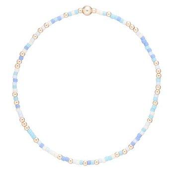 Hope Unwritten Bracelet - Blue Lagoon
