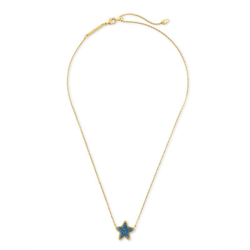 Kendra Scott Jae Star in Blue Drusy