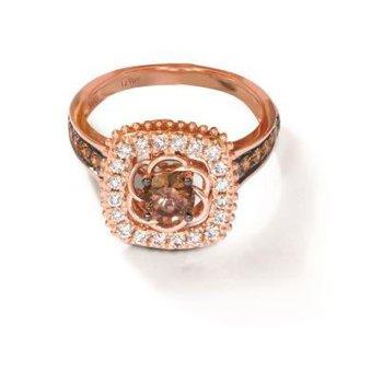 14K Strawberry Gold® Creme Brulee® Ring