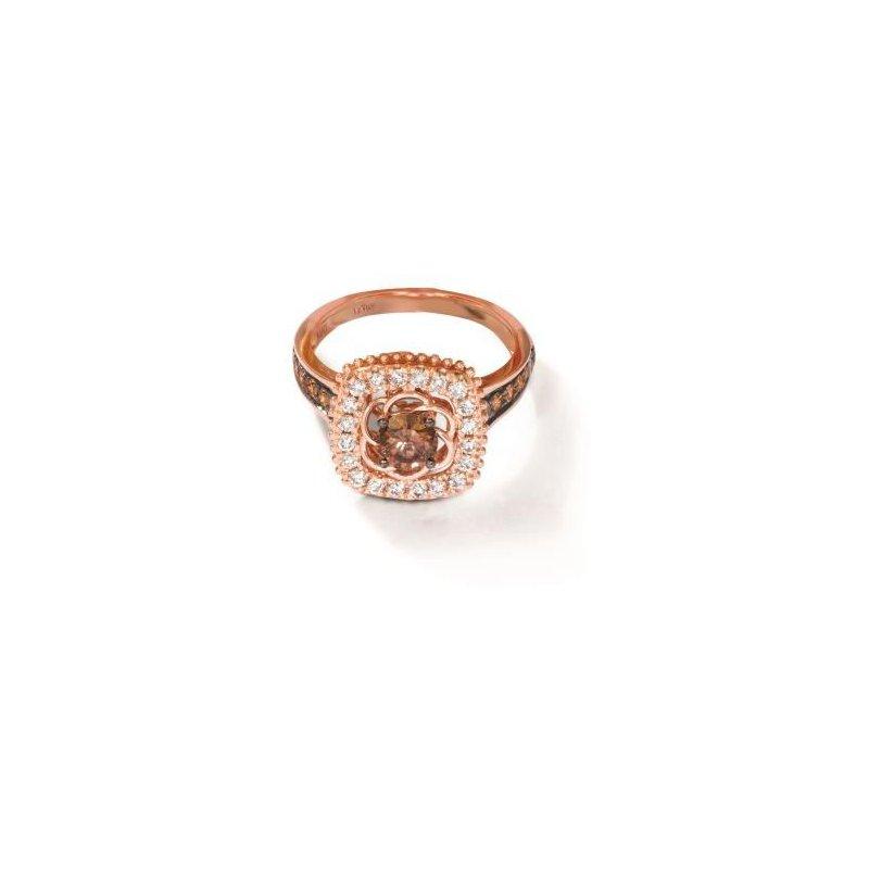 Le Vian 14K Strawberry Gold® Creme Brulee® Ring