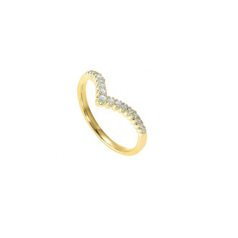 Kelley Collection  Diamond Chevron Ring