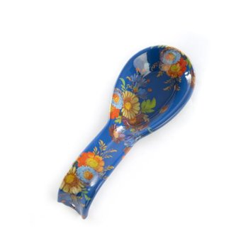 Flower Market Spoon Rest - Lapis