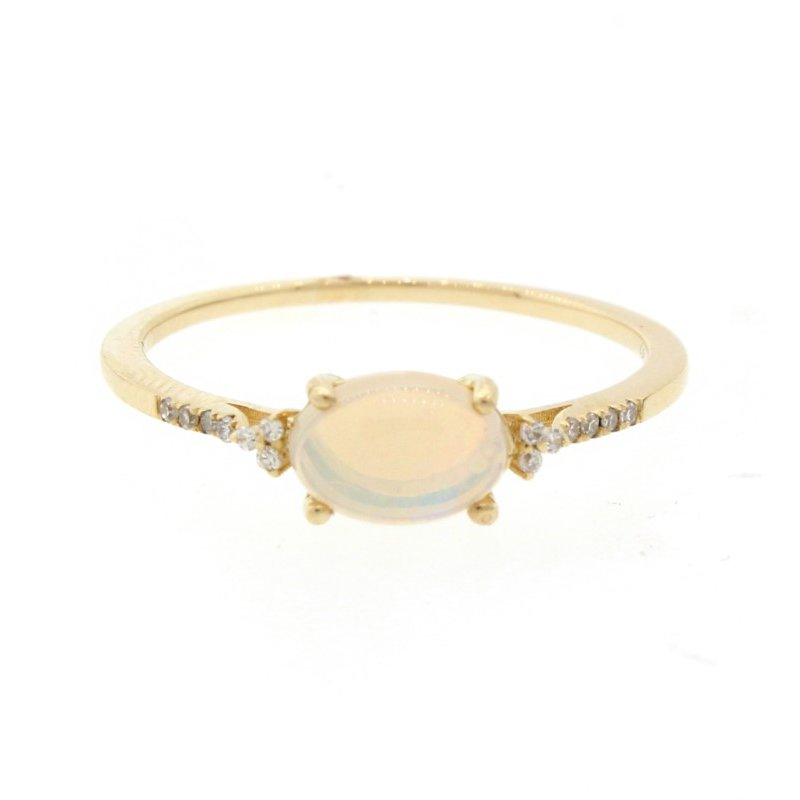 Kelley Collection  Opal & Diamond Ring