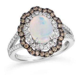 Neopolitan Opal™ Creme Brulee® Ring