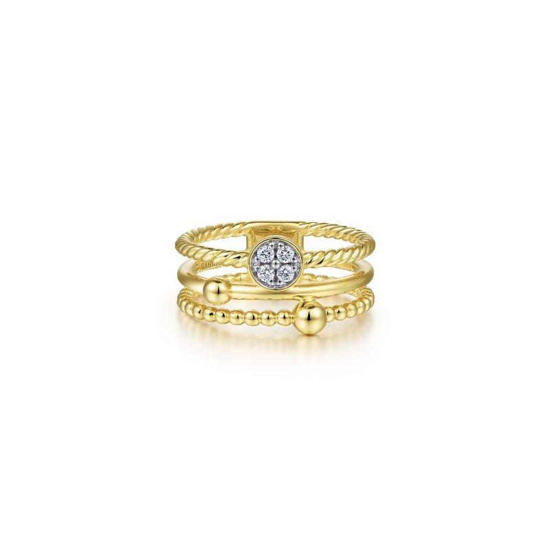 Gabriel NY Fine Jewelry Diamond Bujukan Ring