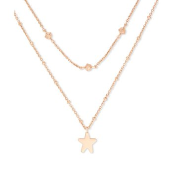 Jae Star Multi Strand in Rose Gold