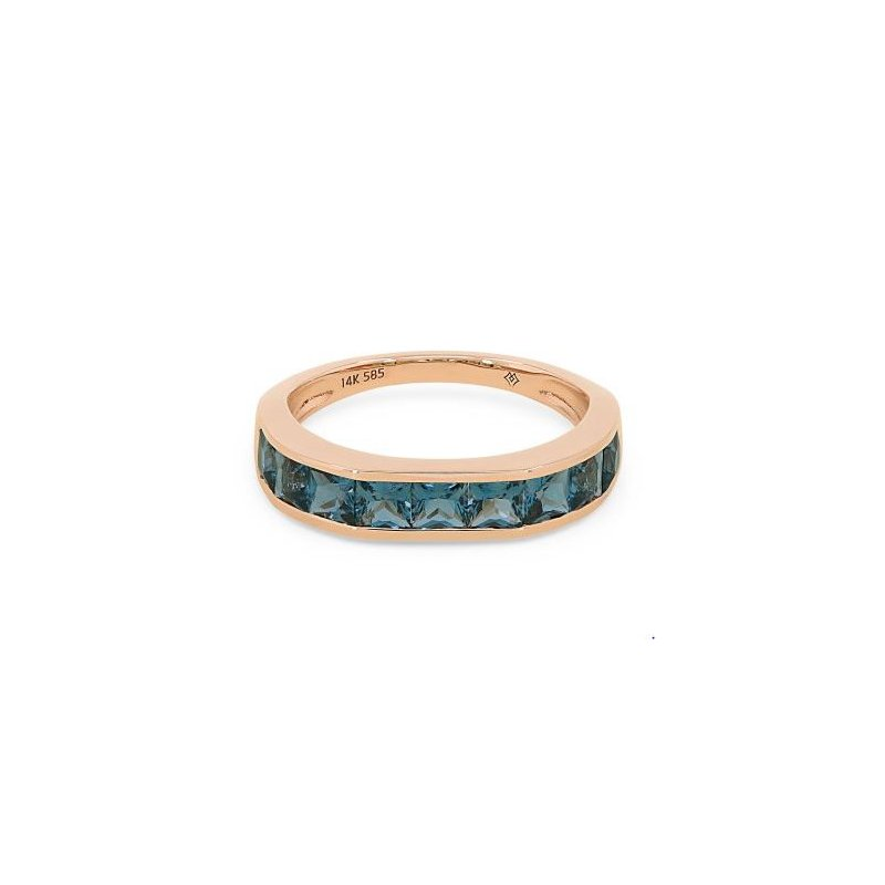 Kelley Collection  London Blue Topaz Ring