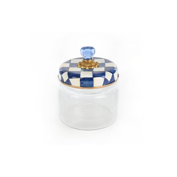 Royal Check Kitchen Canister - Small